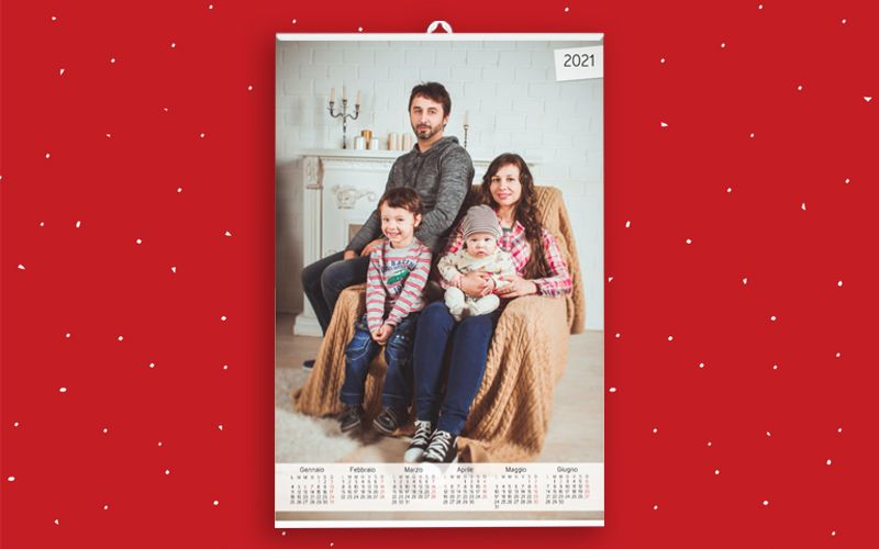 Calendario 6+6 Foto Piena