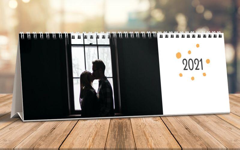 Calendario Da Tavolo Orizzontale Point
