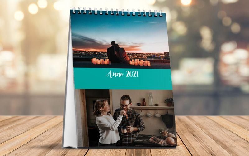 Calendario Da Tavolo Verticale Fresh