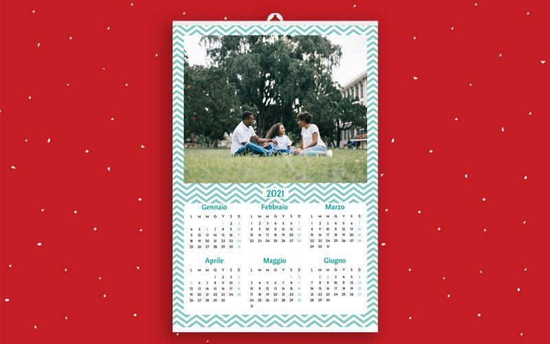 Calendario 6+6 Zig Zag
