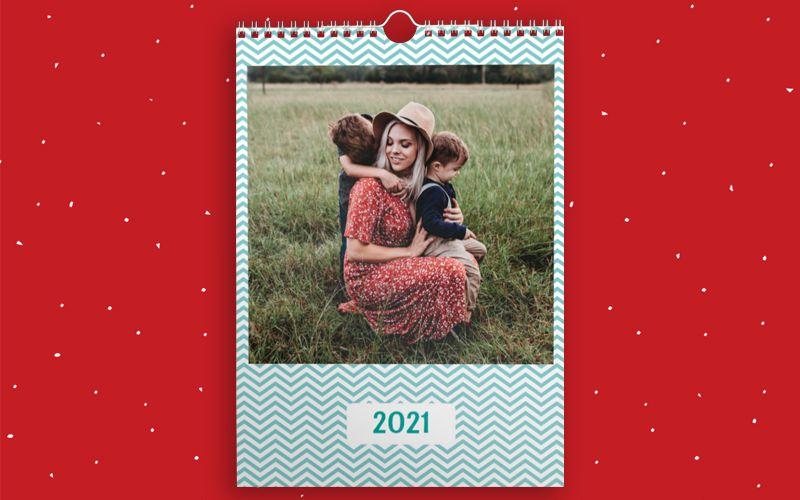 Calendario A4 Zig Zag